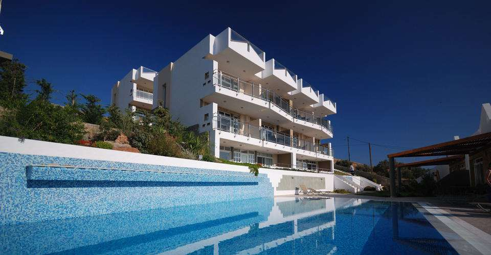 Exclusive development of luxury holiday accommodation with shared pool in south east Crete