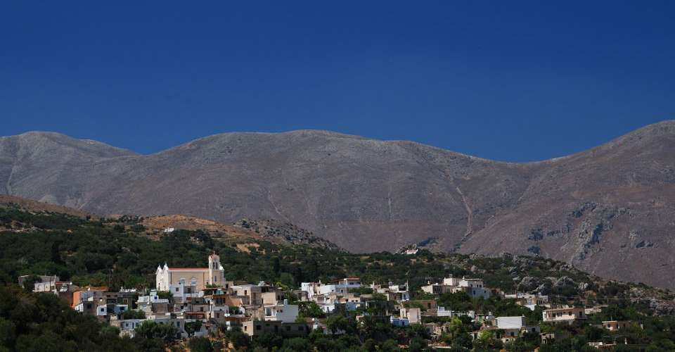 A great base from which to explore the mountainous scenery of east Crete